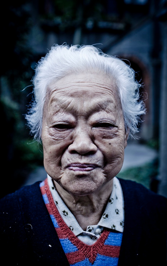 Hu Yun (91) Former Red Army Soldier, 2011 November