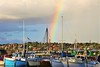 Rainbow Over the Harbor