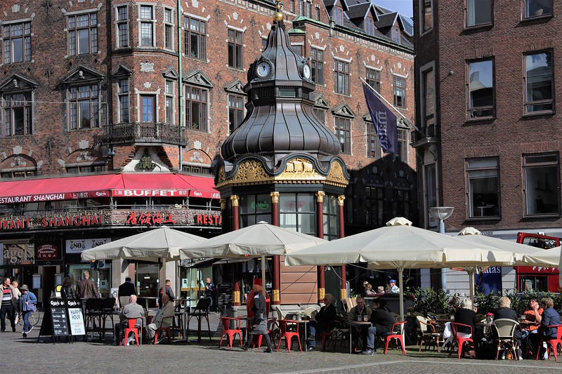 Street Cafe on Strøget
