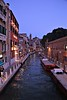 Evening Begins Along a Canal