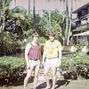 ? and Maury Damkroger, University of Nebraska football players and coaches -  Hawaii, December 1971