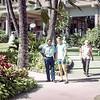 Bill Thorton, University of Nebraska football players and coaches -  Hawaii, December 1971