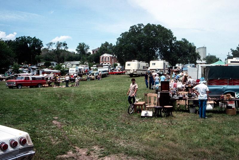 Brownsville Flea Market - Trip to Brownsville, NE May 1975