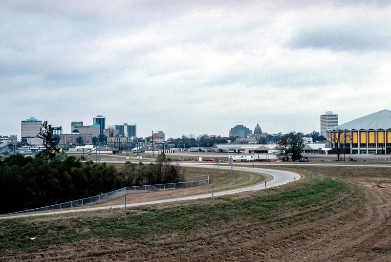 Downtown Jackson, MS - Trip to Southeast, December 1975