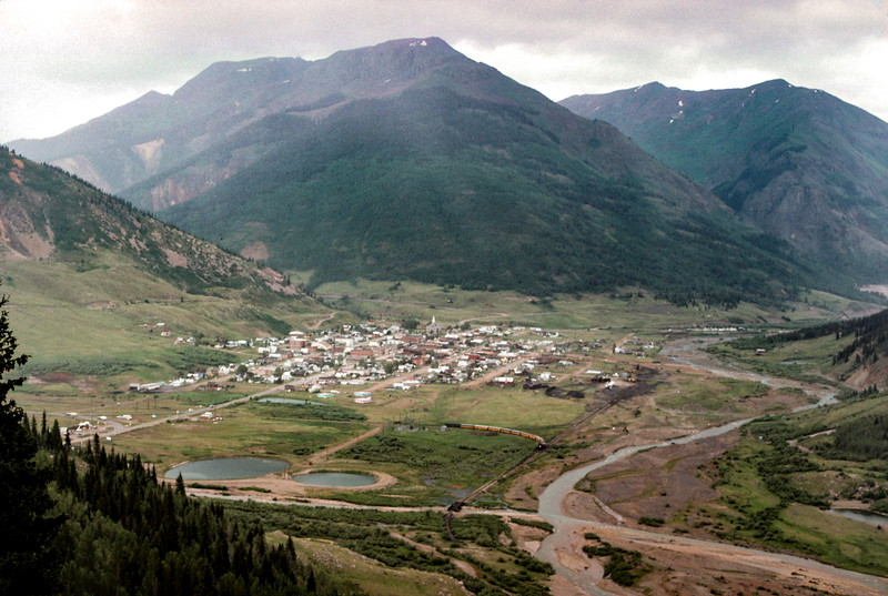 Silverton, CO - Trip to Utah and Colorado August 1975