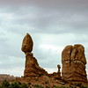 Balance Rock, Arches National Park, UT - Trip to Utah and Colorado August 1975