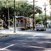 Street car, New Orleans - Trip to Southeast, December 1975