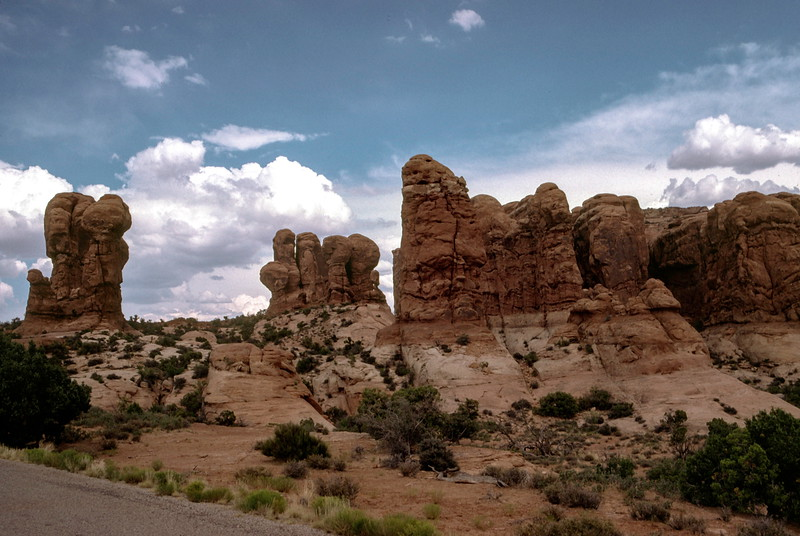 Garden of Eden, Arches National Park, UT - Trip to Utah and Colorado August 1975