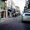 Bourbon Street, New Orleans - Trip to Southeast, December 1975