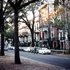 Marshall Row House, Oglethorpe St, Savannah, GA - Trip to Southeast, December 1975