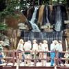 waterfall, Henry Doorly Zoo, Omaha, NE, June 1976