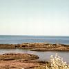 Lake Superior looking towards Canada - Trip to Michigan, May 1976