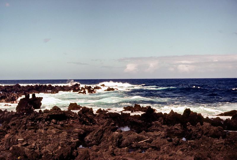 Beach, Hahaina, Maui, Hawaii, November 1982