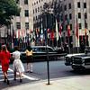 Carol and Lois, Rockefeller Center, New York, 1968