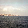Lisbon from across the Tagus River, Portugal, 1968
