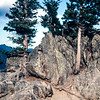 Many Forks Curve, Rocky Mountain National Park, Colorado - 1969
