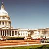 Senate wing of capitol. Trip to Washington, DC, April 1980