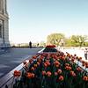 Washington from the capitol. Trip to Washington, DC, April 1980