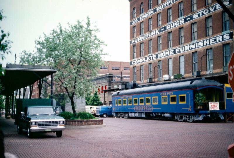 Omaha Old Market, summer 1979