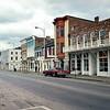 Street in Hannibal, MO. Trip to Hannibal, MO, November 1979