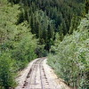 Train ride, Silver Plume to Georgetown, CO - August 1980