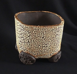 """#779 4 1/4"""" rounded square, 3 1/2"""" deep, 4 1/4"""" tall"""