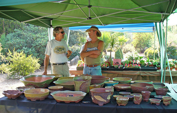 Gene Joseph from Living Stones Nursery - Plants for the Southwest  and Ankhworks Charlie