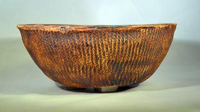 Rope Impressed Roundish Pot
