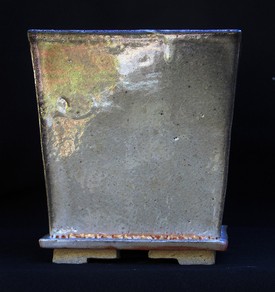 Stoneware with CarbonTrap Glaze 5 3/4 x 6 1/4 sold