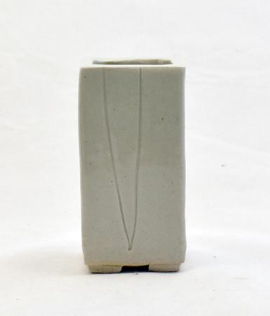 Small Square Pot Stone Pine  Impressed