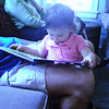 Cousin Sophie loves to read