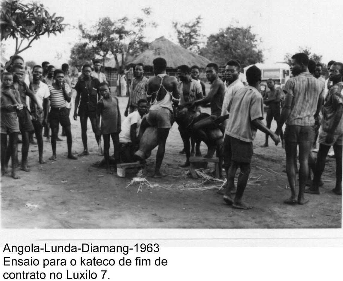 1963- Ensaio para o kateco de fim de contrato perto do Luxilo