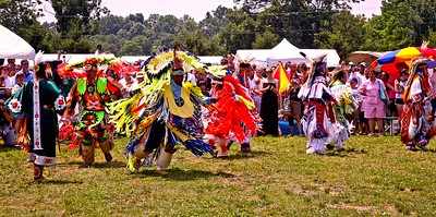 Performing at the Sussex County, NJ, PowWow