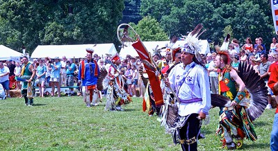 The Eagle Staff at the Skylands PowWow