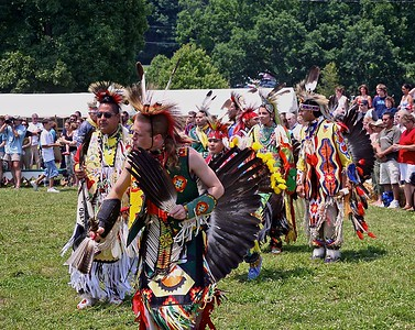 The Native Americans perform at the Sussex County PowWow