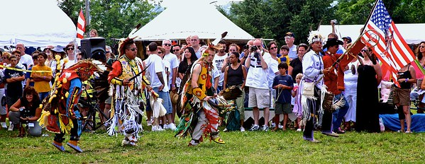 Dancers at the Sussex County New Jersey PowWow