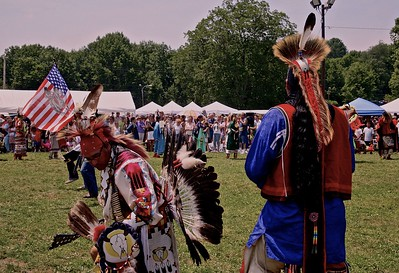 The Honor Song at Skylands PowWow