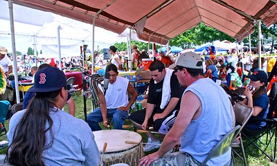 The Drum Group at the Sussex County PowWow