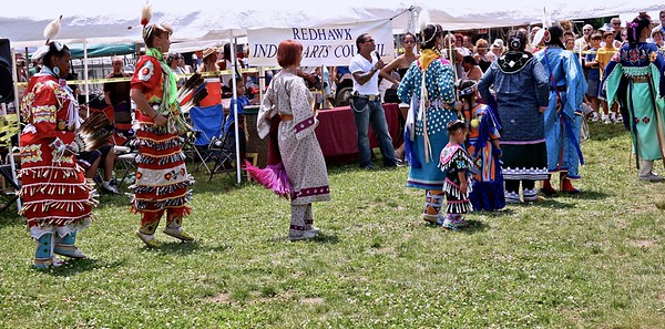Women at The Skylands PowWow