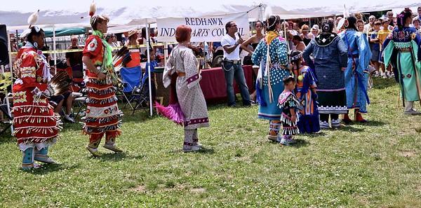 Women at The Skylands PowWow