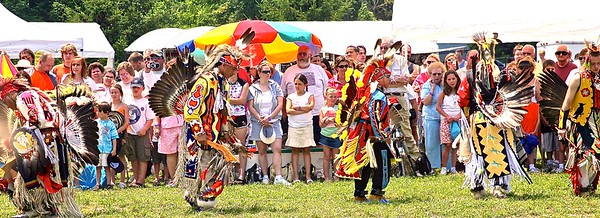 The opening of the PowWow