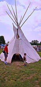 Traditional Native American Tepee