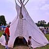 Traditional Native American Tepee