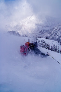 Wasatch Powder Day