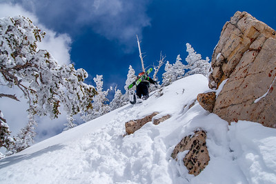 Loving Wasatch Powder Days