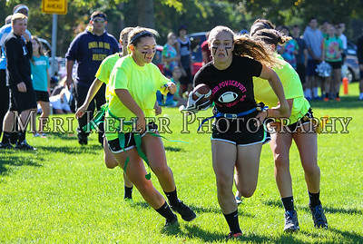 MHS Seniors vs Freshmen Powder Puff 2015