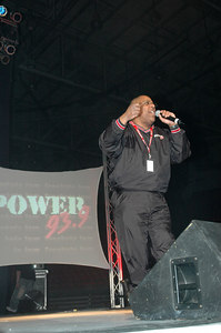 "HitMan from Power 93.9 welcomes everyone to the ""Freaknic Jam"" at the Kansas Coliseum March 25,2006."
