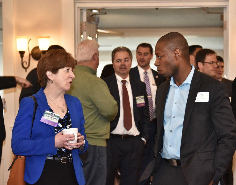 Albany Mayor Kathy Sheehan and Troy Alfred