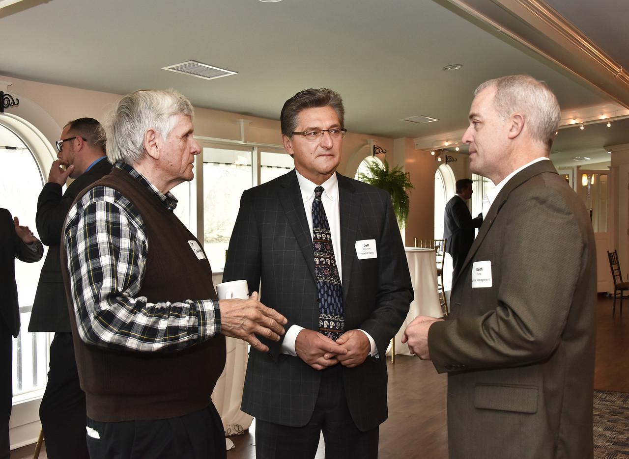 Pat Cavanagh, Jeff Chouinard and Keith Flores