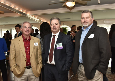 Peter Marx, panelist Jeff West and Khris Fitzgerald from U.W. Marx Construction